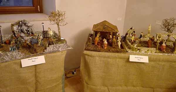 A ripacandida la mostra con i presepi realizzati da - Presepi fatti in casa ...