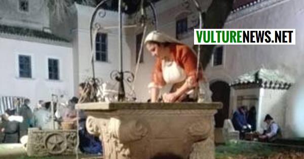 A rionero il presepe vivente pi antico del sud italia le for Casa colonica vivente del sud