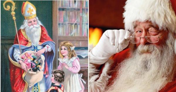 Babbo Natale E San Nicola.Oggi E San Nicola La Sua Leggenda Ha Fatto Nascere Il Mito